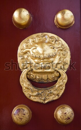 Imperial Door Temple of Heaven Beijing China Stock photo © billperry