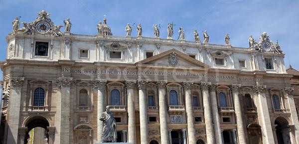 святой базилика за пределами Ватикан Рим Италия Сток-фото © billperry