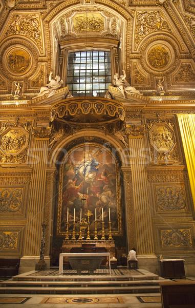 Pulizia basilica vaticano santuario Roma Foto d'archivio © billperry