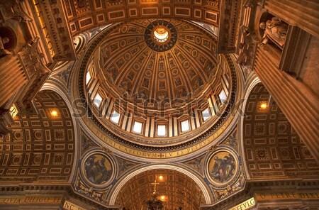 Basílica cúpula teto catedral Ucrânia Foto stock © billperry