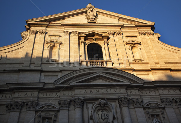 Gesu Jesuit Church Rome Italy Stock photo © billperry