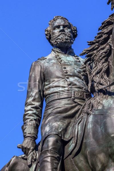 Major General George Henry Thomas Civil War Statue Thomas Circle Stock photo © billperry