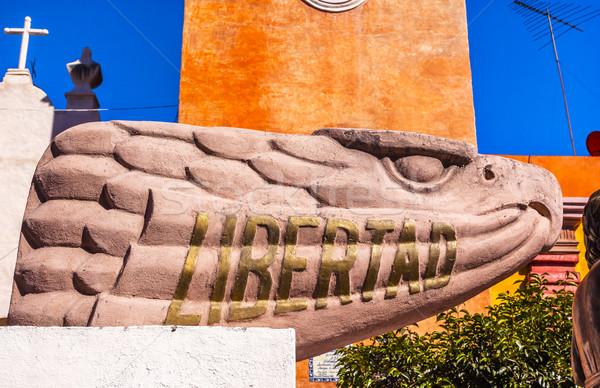 Liberty Road Sanctuary of Jesus Atotonilco Mexico Stock photo © billperry