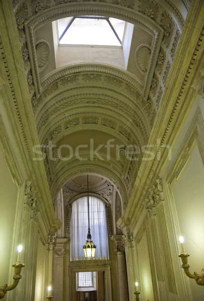 Stock photo: Vatican Passageway Outside Sistine Chapel Rome Italy