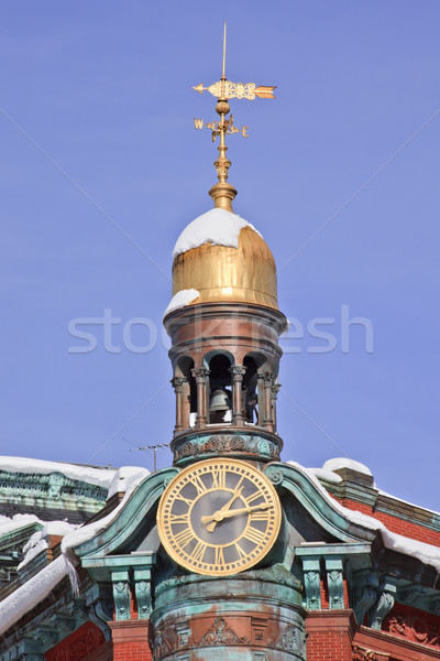 Sun Trust Building Cupola Weather Vane 15th Avenue New York Aven Stock photo © billperry