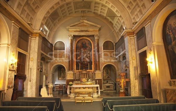 San Sebastiano al Palantino Saint Sebastian Basilica Palantine H Stock photo © billperry