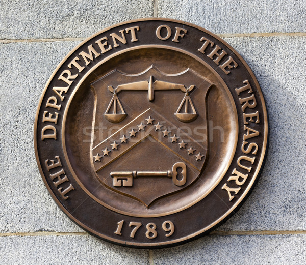 Present Seal Sign Symbol US Treasury Department Washington DC Stock photo © billperry