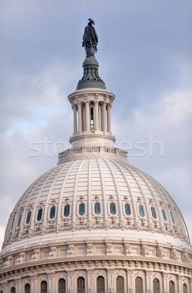 ストックフォト: ドーム · 自由 · 像 · ワシントンDC · 議会 · 建物