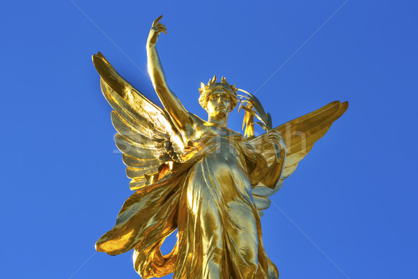 Winged Victory Victoria Memorial Buckingham Palace Westminster L Stock photo © billperry