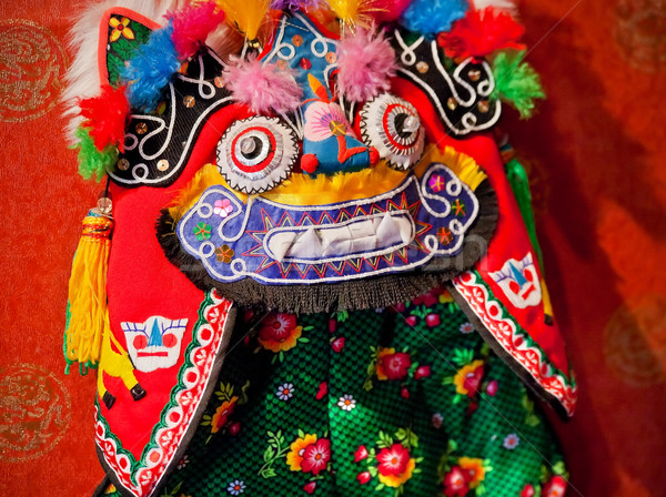 Chinese Colorful Souvenir Puppet Dragon Beijing, China Stock photo © billperry