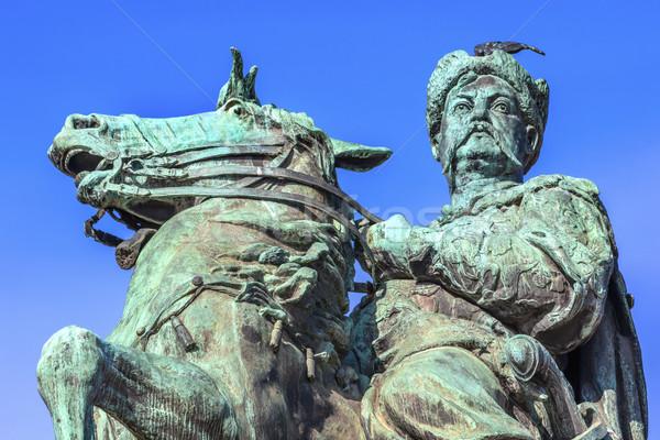 Heykel kare Ukrayna heykeltraş at Stok fotoğraf © billperry