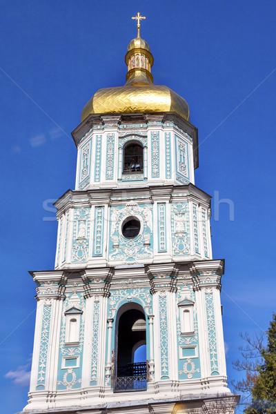Saint Sophia Sofia Cathedral Tower Sofiyskaya Square Kiev Ukrain Stock photo © billperry