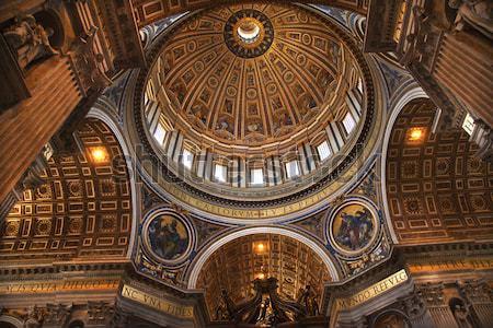 Santo basilica cupola Roma Italia vaticano Foto d'archivio © billperry
