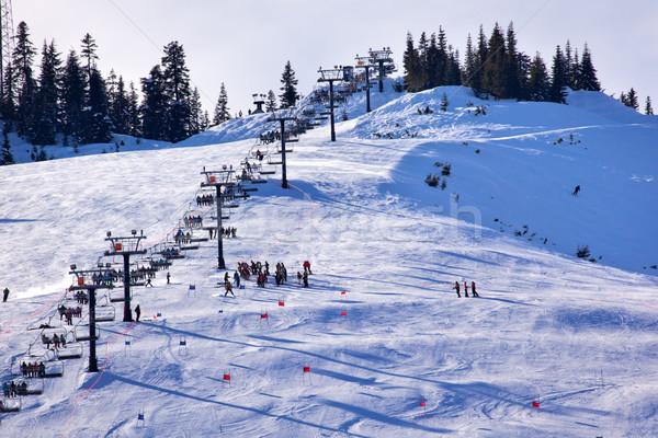 Passz Washington sí osztály hó hegy Stock fotó © billperry