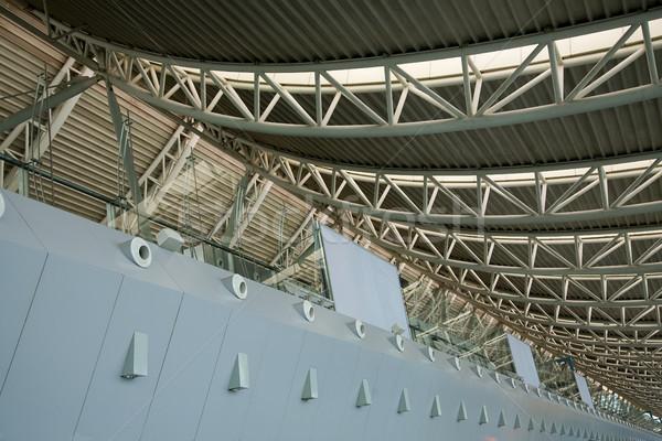 Moderno aeroporto Cina dettagli tetto Foto d'archivio © billperry