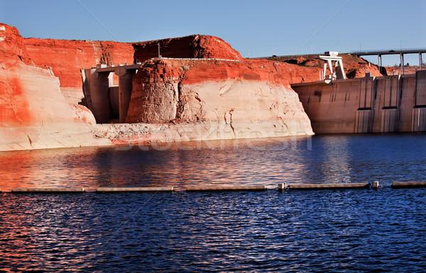 Canón lago paredes Arizona naranja amarillo Foto stock © billperry