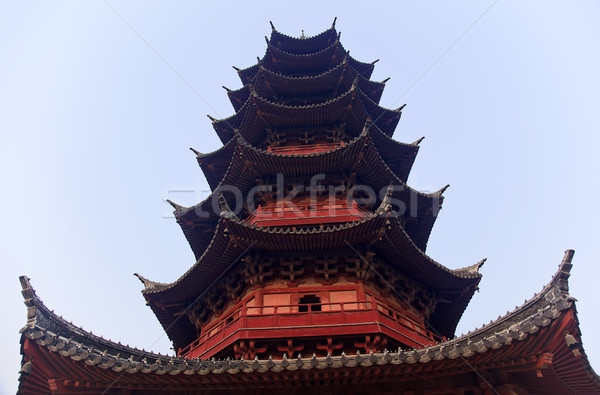 Oude chinese pagode lied kin Stockfoto © billperry
