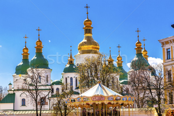 святой София собора башни квадратный Сток-фото © billperry