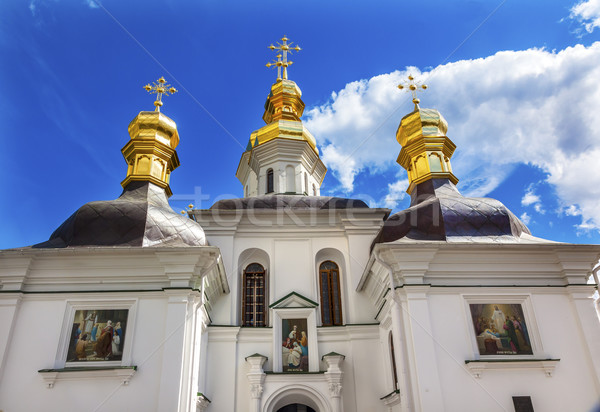 Blessed Virgin Holy Assumption Pechrsk Lavra Cathedral Kiev Ukra Stock photo © billperry