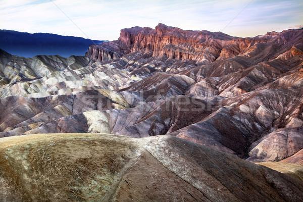 Ponto morte vale parque Califórnia forma Foto stock © billperry