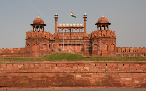 ворот красный форт Дели Индия Сток-фото © billperry
