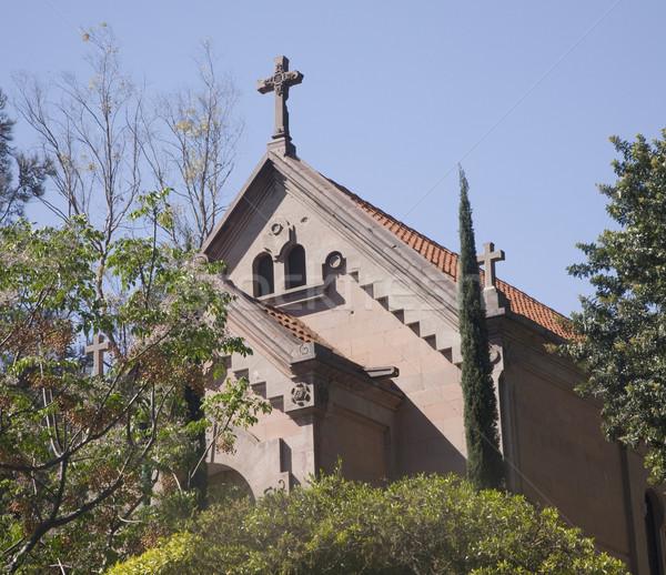 Execution Chapel Hill of Bells Queretaro Mexico Stock photo © billperry