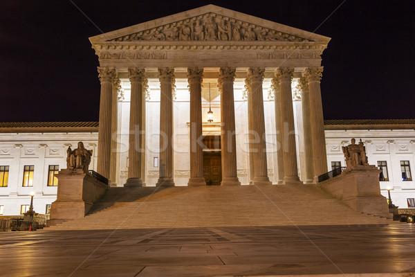裁判所 丘 1泊 星 ワシントンDC 建物 ストックフォト © billperry