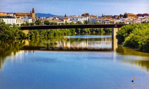 River Guadalquivir Bridge Cordoba Spain Stock photo © billperry