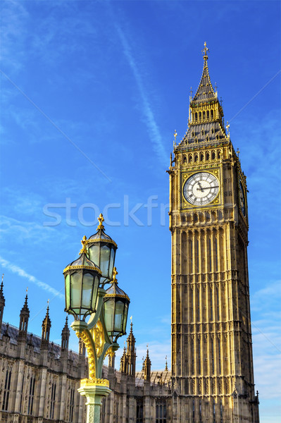Big Ben tour maisons parlement westminster Londres Photo stock © billperry