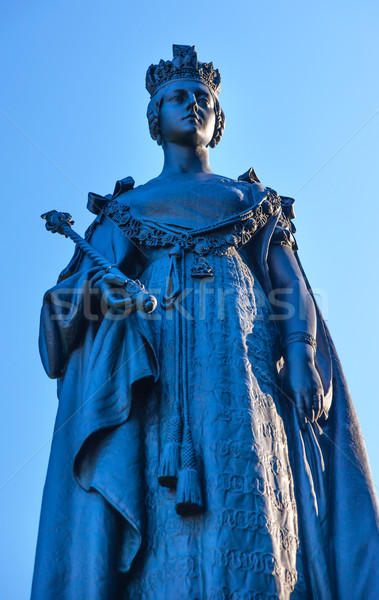 Queen Statue Provincial Capital Legislative Buildiing Victoria  Stock photo © billperry