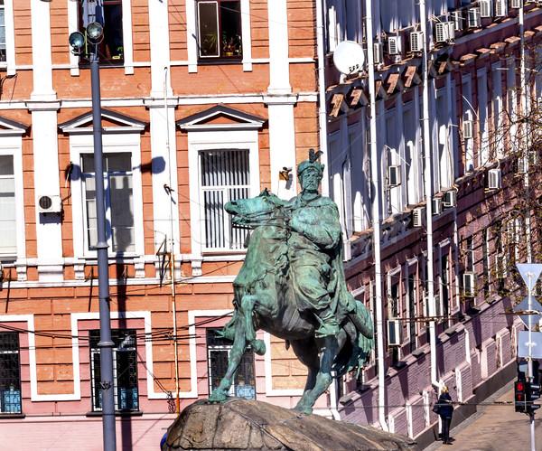 像 広場 ウクライナ 彫刻家 馬 ストックフォト © billperry