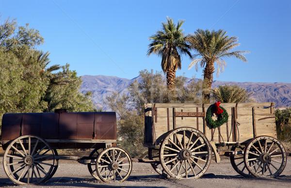 クリスマス 死 谷 公園 カリフォルニア ファーネス ストックフォト © billperry