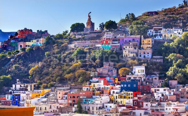 多くの 住宅 像 メキシコ メキシコ料理 ストックフォト © billperry