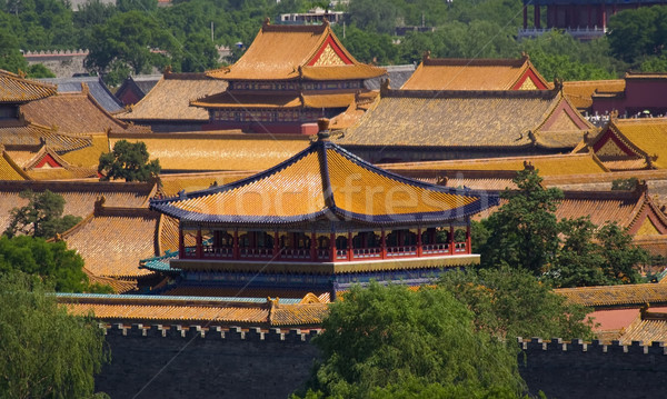 Forbidden City, Emperor's Palace, Beijing, China Stock photo © billperry