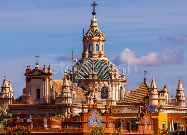 Church of El Salvador Seville Spain Stock photo © billperry