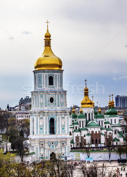ソフィア 大聖堂 塔 広場 ストックフォト © billperry