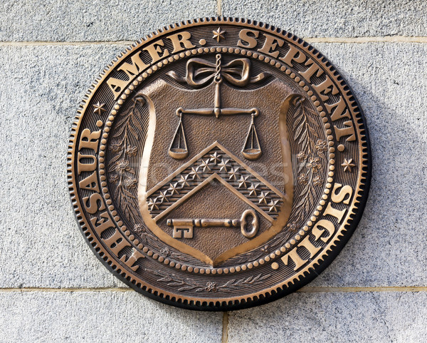 Early Seal Sign Symbol US Treasury Department Washington DC Stock photo © billperry