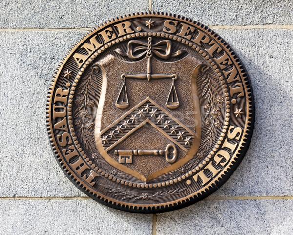 Presto sigillo segno simbolo tesoreria dipartimento Foto d'archivio © billperry
