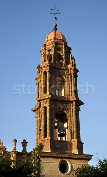 San Francisco Church Steeple Bells San Miguel Mexico Stock photo © billperry