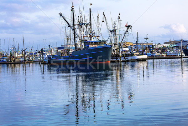 Large Fishing Boat Westport Grays Harbor Washington State Stock photo © billperry