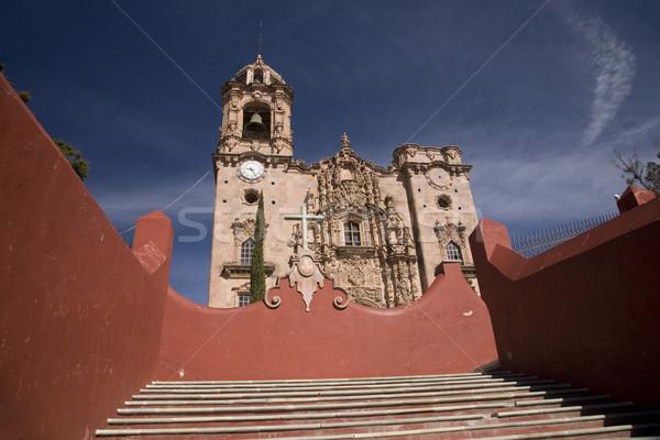 Templo De San Cayetano, Guajuato Mexico Stock photo © billperry