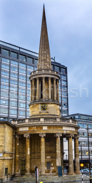 All Souls Langham Place Anglican Church London England Stock photo © billperry
