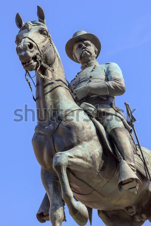 US Grant Statue Civil War Memorial Capitol Hill Washington DC Stock photo © billperry
