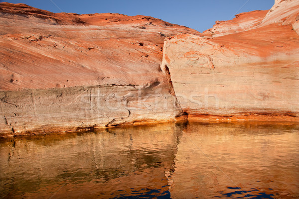 Antelope Slot Canyon Reflection Lake Powell Arizona Stock photo © billperry