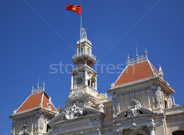 People's Committee Building Saigon Vietnam Stock photo © billperry