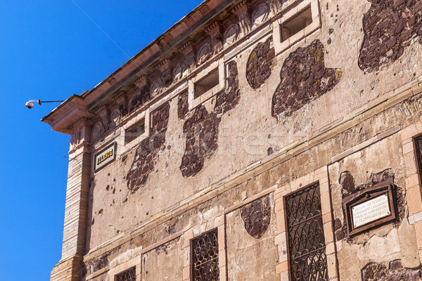 Allende Window Alhondiga de Granaditas Guanajuato Mexico Stock photo © billperry