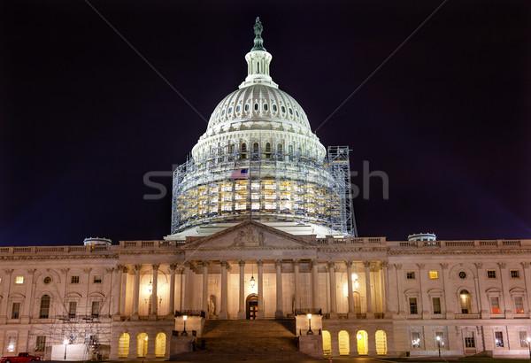 строительство ночь звезды Вашингтон север сторона Сток-фото © billperry