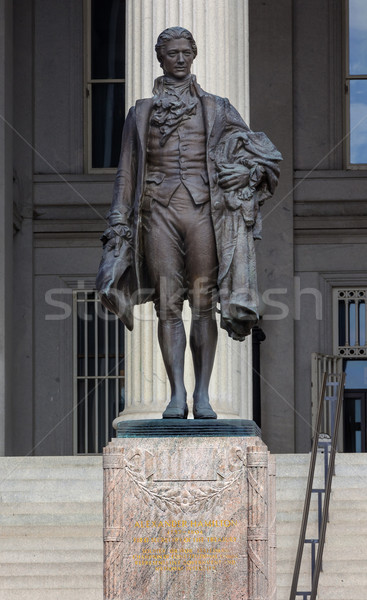US Treasury Department Alexander Hamilton Statue Washington DC Stock photo © billperry