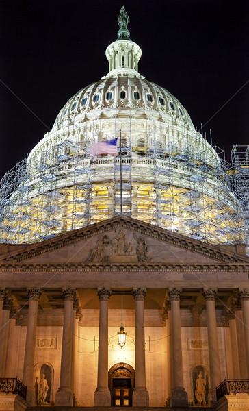 север сторона строительство ночь звезды Вашингтон Сток-фото © billperry