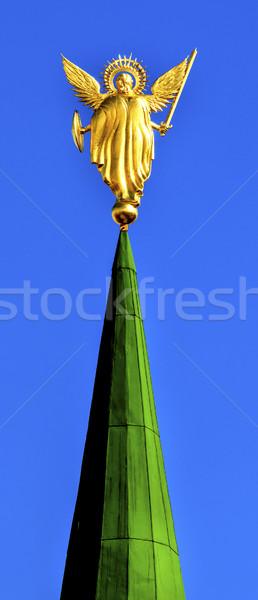 Statua santo Sofia cattedrale ingresso Foto d'archivio © billperry